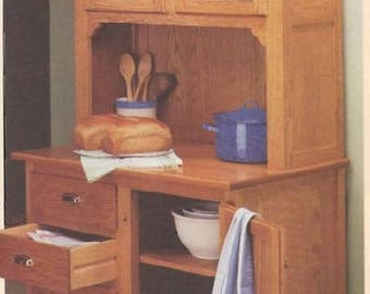 Hoosier Style Cabinet Woodworking Plans