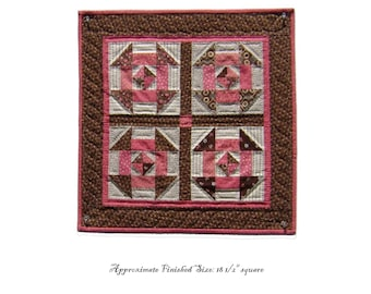 Churn Dash Quilt Pattern PDF Reproduction Traditional Style QRD387