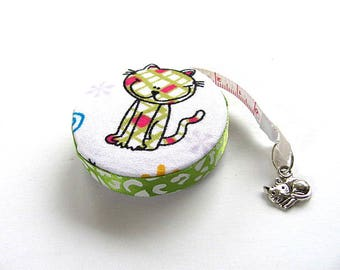 Measuring Tape Cat and Mouse Retractable Tape Measure