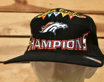 Vintage Denver Broncos Football Hat
