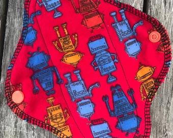 Flannel Pad/Cloth Pad/Teen Pad/Mama Cloth-Robots