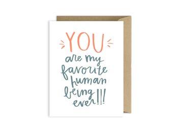 I Love You Card Boyfriend AZ103