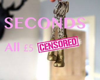SECONDS - Mini willy keyrings