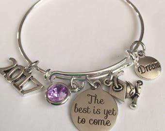 graduation bracelet-the best is yet to come bracelet-2017 or 2018