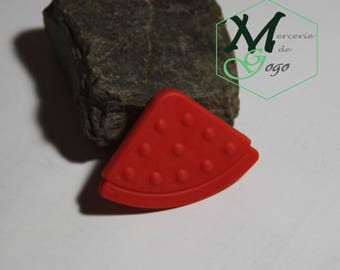 Teether sewing red.