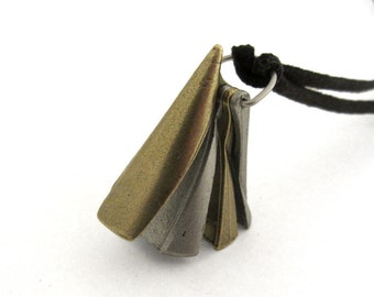 Conic Sections Pendant - Geometry Necklace, Math Jewelry