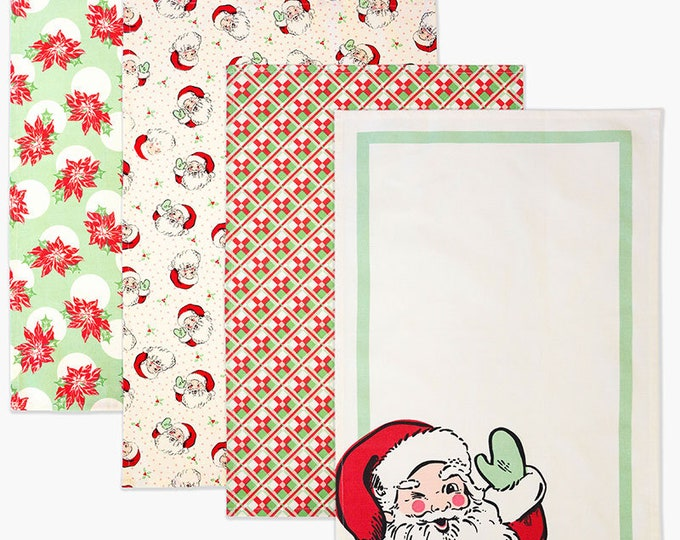 Featured listing image: Swell Christmas Towels Set of 4