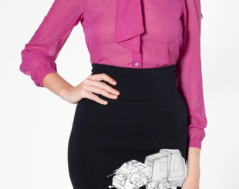 My Star Wars AT-AT Pet - American Apparel Pencil Skirt ( Star Wars Skirt ) Star wars sale