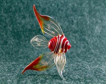 Glass Fish Figurine Fish Sculpture Fish Figure Glass Figurine Glass Figure Animal Sculpture Figurine Handmade Sea Fish Glass Murano(lk8)