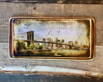 Brooklyn Bridge - 10x20 inches