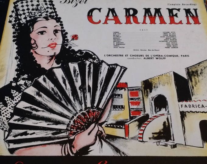 1951 Carmen - Vinyl Record London Gramophone Corporation