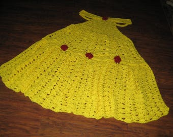 Crochet Princess Dress Blanket