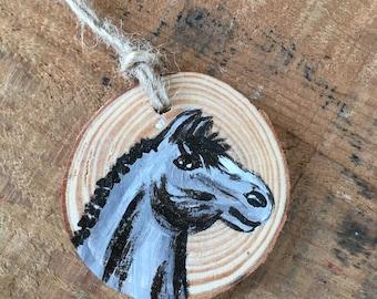 Horse Ornament - Christmas Ornament - Pony Ornament