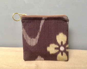 A Japanese obi textile bag ~
