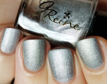 Bright Metal - Silver Metallic Matte Nail Polish