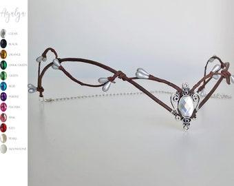 Woodland tiara - fairy crown - medieval circlet