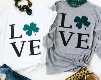 Love St. Patrick's Day Tees