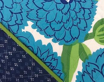 Vintage Marimekko Whole Cloth Baby Quilt