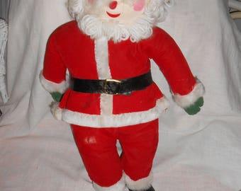 Vintage Santa Claus Christmas Holiday Doll