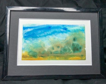 By The Shore - Original Watercolor Painting