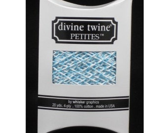 Aqua Divine Twine Petites™ from Whisker Graphics - 20 Yards