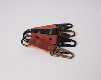 Leather Key Chain   HK Sling Clip Key Chain