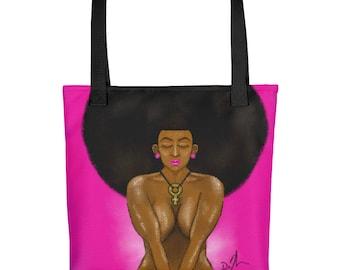 """AFRO GODDESS"""" Tote bag"""