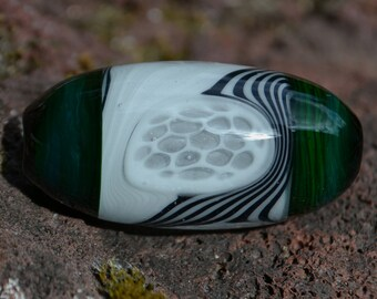 Brian Messer x Turtle Glass Hollow Bead