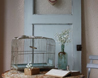 Sweet Vintage French Wire Bird Cage