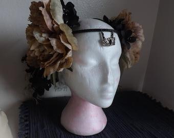 Fairy Headdress black/grey