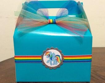 Pony Birthday Favor Box