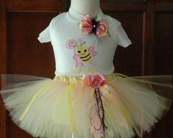bumble bee 1st birthday girl outfit,Its my Bee Day Bumble bee 1st birthday outfit.one year old girl birthday outfit,1st birthday outfit,bee