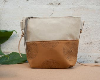 small leather bag, leather crossbody bag, leather purse, small clutch, zipper leather bag, leather bag, crossbody bag, small day bag, clutch