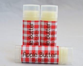 Apple Butter Lip Balm - Apple Butter Chapstick  - Lip Moisturizer - Apple Butter - Organic Lip Balm - Natural Lip Butter - Handmade Lip Balm
