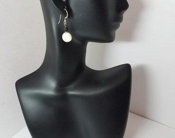 Earrings Mother-of-Pearl & Sterling