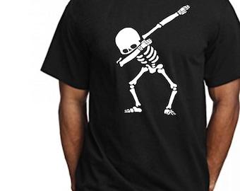 Dabbing Skeleton Tshirt!