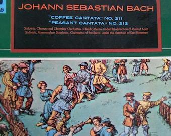 Johann Sebastian Bach - Coffee Cantata - No 211- Peasant Cantata No 212 -vinyl record