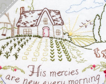 His Mercies Are New - Summer - Complete Embroidery KIT