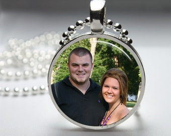 Personalized Photo Pendant Photo Jewelry Photo Necklace Picture Pendant Glass Pendant
