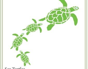 Sea turtles SVG, Beach SVG  beach signs, glass blocks, iron on transfer, vinyl mailbox svg, SVG, turtle svg, animal svg
