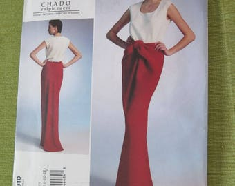 Vogue 1310 CHADO Ralph Rucci Misses Top and Skirt Sewing Pattern sz 14 16 18 20 22 UNCUT