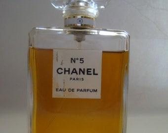 CHANEL Paris  No 5 Eau de Parfum Bottle 100 ml Spray