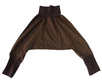 Grow with me harem pants, kids harem pants, girl pants, boys pants, brown harem pants, brown kids pants, original harem pants, cozy pants