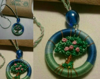 Tree in Bloom necklace