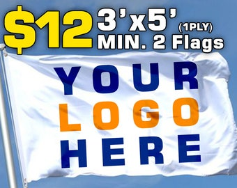 CUSTOM FLAG Custom flags custom flag made to order size 3ftX5ft delivery in 6 business days