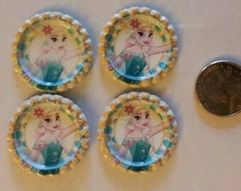 Elsa, Frozen flattened bottlecaps