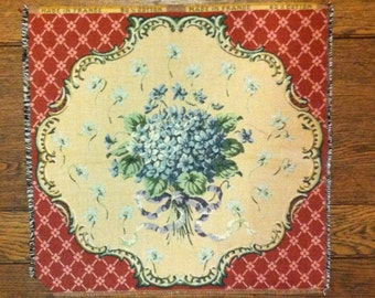 French Violet Tapestry