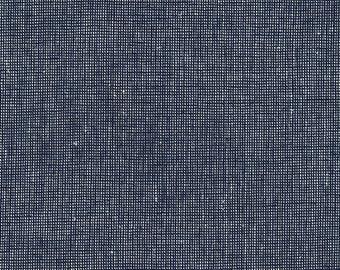 Navy Essex Yarn Dyed Homespun - Robert Kaufman