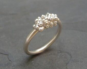Compilation Ring, Minimalist Jewelry, Minimalist Ring, Sterling silver ring, Sterling Silver Jewelry, Silver Ring, Contemporary Jewelry
