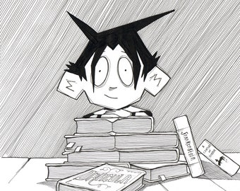 ghostboyworld: Tristan and Books